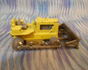 Majorette Bulldozer  Die Cast-Vintage-Made In France