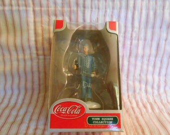 Town Square Collection-Coca Cola-Movie House Usher-Sealed