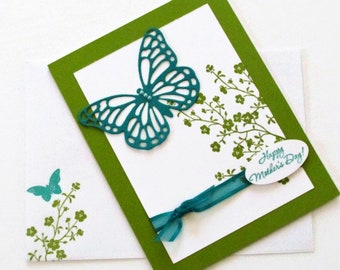 Beautiful Butterfly Mother's Day Card