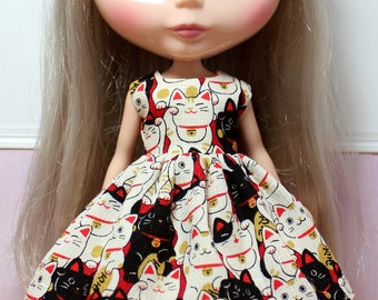 BLYTHE doll Its my party dress - lucky cats