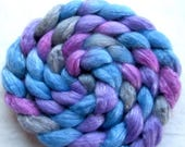 Merino/Tencel Spinning Fiber (Combed Top) 4 oz Hand Painted