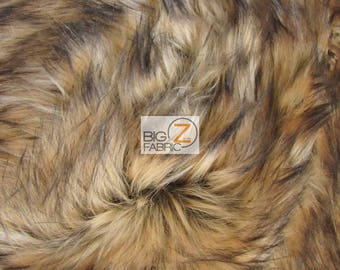 Faux Fake Fur Animal Short Pile Coat Costume Fabric - TUNDRA WOLF - By The Yard Costume Clothing Accessories Scarf Coats Rugs