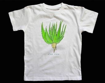 Aloe is your friend! White T Shirt