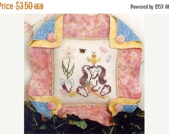 25% OFF SALE Brittercup Designs Britty Bunny Counted Cross Stitch Pattern