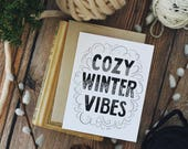 Cozy Winter Vibes - A2 Note Card Boxed Set