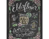 Elderflower - Print