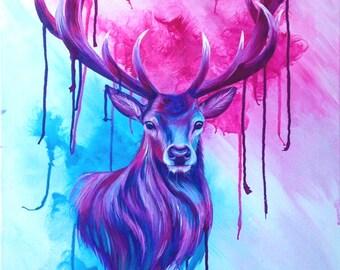 Oh Deer - Original Painting