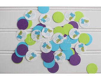 Monsters Inc Baby Shower Confetti - 125 pieces