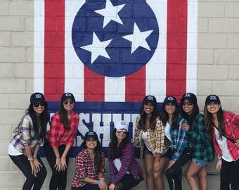 Group Flannels, custom flannel groups, family reunion flannel, family photo shirts, group shirts, girls trip flannel