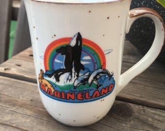 Vintage Hanna Barbera Marine Land Mug
