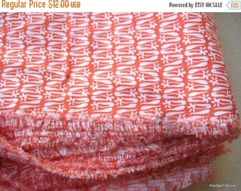 Flat 40% Off Extra Wide Abstract Print Fabric - Apparal Fabric by Yard