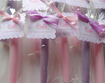 20 Fairy Dust Party Favors, Girls, Sweet Treat Favors for Children, Edible Cotton Candy Party Treats