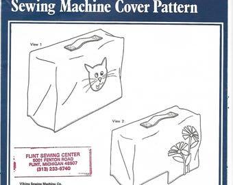 Viking Sewing Machine Cover Sewing Pattern Uncut