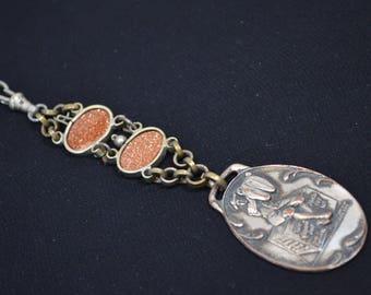 Antique Watch Fob Chain Adamant Suit Trousers Samuel Rosenthal