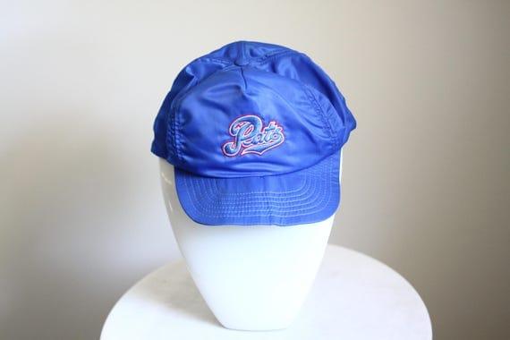 1970s Regina Pats hat // vintage Regina Pats hockey // vintage sports hat