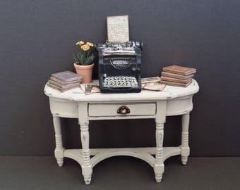 Desk Shabby Chic Style Memory      OOAK
