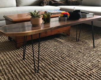 """1/2"""" HEAVY DUTY hairpin legs,set of 4,raw uncoated iron,hairpin table leg,mid century modern,coffee table, 1/2"""" diameter"""