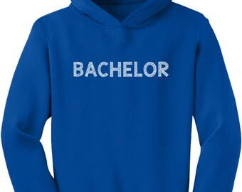 Cute Valentine's Bachelor Toddler Hoodie