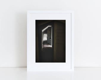 Dark Doorway - Urban Exploration - Fine Art Photography Print