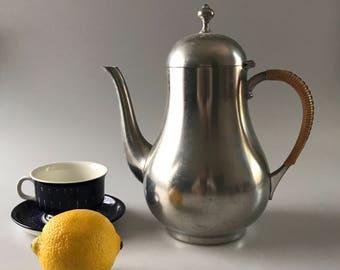 Daalderop Vintage Royal Pewter Teapot Made in Holland