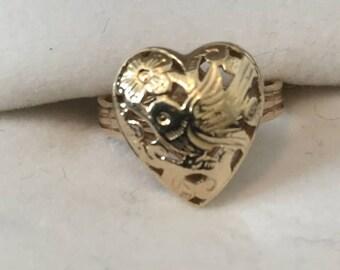 Ming's Hawaii 14 Karat Gold ring