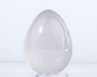 Milky Quartz Specimen Egg From Madagascar