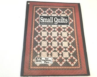 Small Quilt Patterns, Small Quilt Book, Marsha McCloskey, Baby Quilt Patterns, Lap Quilts, Wall Quilts, Patchwork Quilt, Jacobs Ladder