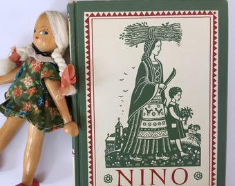 Nino, Valenti Angeli, Hardcover, Charming Woodcut, Illustrations, Italy, Country Life, Hardcover, Pastoral Tale