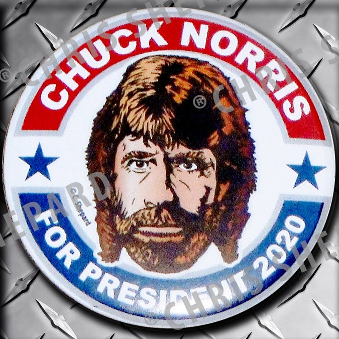 CHUCK NORRIS For PRESIDENT 2020 Presidential Election