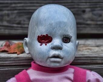 Eveline (OOAK Horror doll)