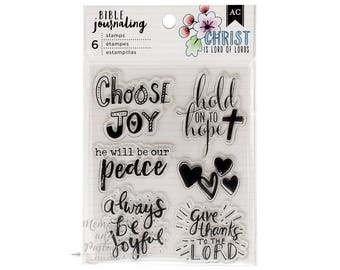 Bible Journaling Stamps - Christian Stamps - Religious Stamps - Faith Journaling - Bible Art - Devotional Stamps - Shield - 364402