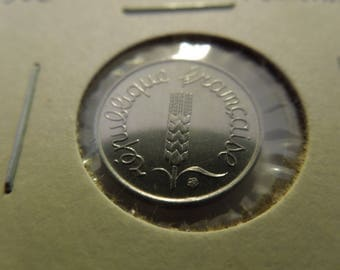 French Coins, France 1962 to 2000, 1 to 10 Centimes - Sell By The Piece