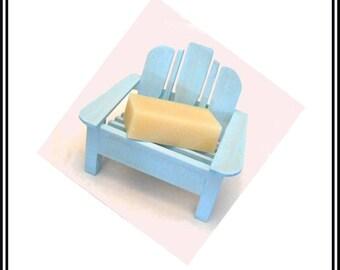 Wood Soap Dish | Adirondack Chair | Beach Theme | Gift | Soap Holder | Beach Chair | You choose color