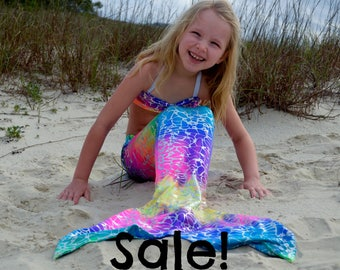 Swimmable Mermaid Tail,  Fast Shipping! Mermaid costume
