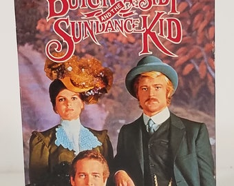 Vintage Butch Cassidy and the Sundance Kid VHS cassette video movie tape