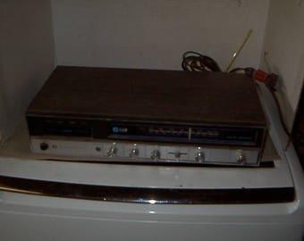 Vintage Elgin Radio and 8 Track Player