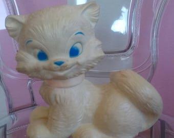 J.L.Prescott 1968 squeaky toy cat