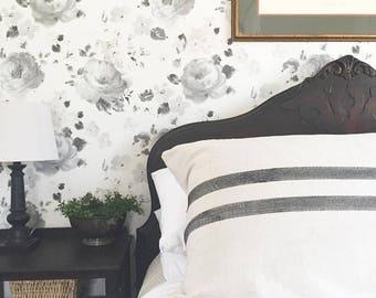 Grain Sack Body Pillow, Body Pillow Case, Farmhouse Pillow Cover, Body Pillow, Body Pillow Sham, Farmhouse Pillow, Decorative Body Pillow