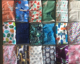 Custom Pick Your Pattern Babywearing Carrier Ergo Beco Tula Chew Drool Pads