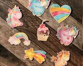 Rainbow Unicorns Die Cuts...