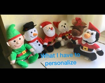 Personalized plush dolls