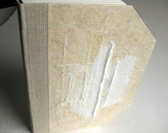 Wedding Guest Book Marriage Handicraft Journal Diary White Collage