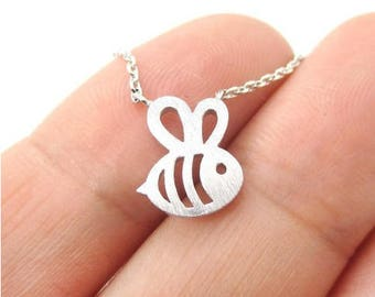 Bee necklace 18in
