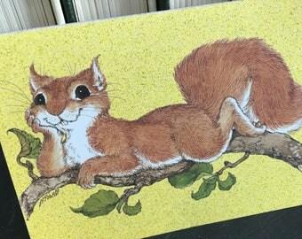 Postcards, vintage postcards, stationery, wildlife, Current