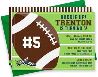 Football Invitation, Football Invites, Football Birthday Invitation, Football Party, Football Party Invitations, Football Printables   87