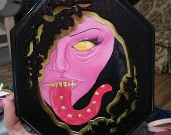"Painting ""Pink lady"" original artwork"