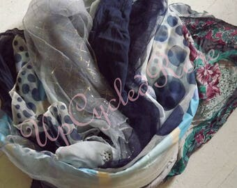 Lot of  Vintage Head Scarves