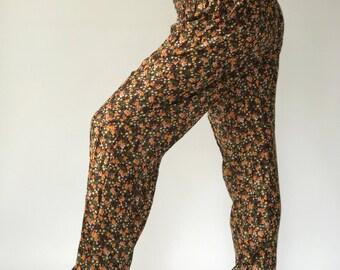 SM0064 Gypsy Pants Rayon Pants,Aladdin Pants Maxi Pants Boho Pants