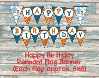 Horton Hears a Who Birthday Banner - Dr Suess Printable Party Decor