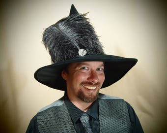 """Witch Hat """"Edgar"""" One of a Kind"""